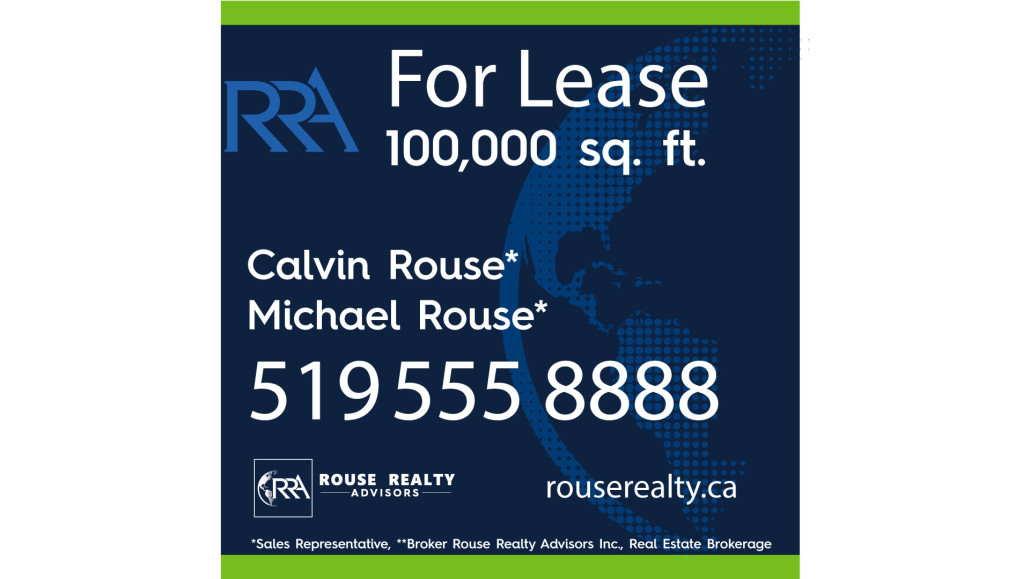 Clear Expanse Marketing Toronto Rouse Realty Advisors Sign