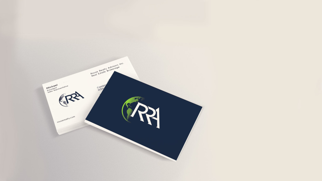 Clear Expanse Marketing Toronto Rouse Realty Advisors Business Cards
